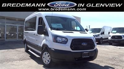 2019 Transit 350 Med Roof 4x2,  Passenger Wagon #F39517 - photo 1