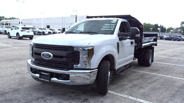 2019 F-350 Regular Cab DRW 4x2, Monroe MTE-Zee Dump Body #F39765 - photo 4