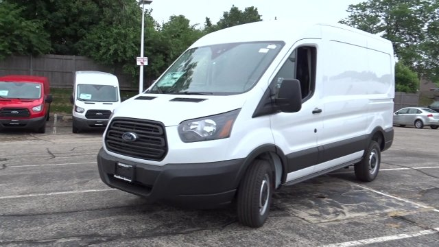 2019 Transit 250 Med Roof 4x2,  Empty Cargo Van #F39877 - photo 5