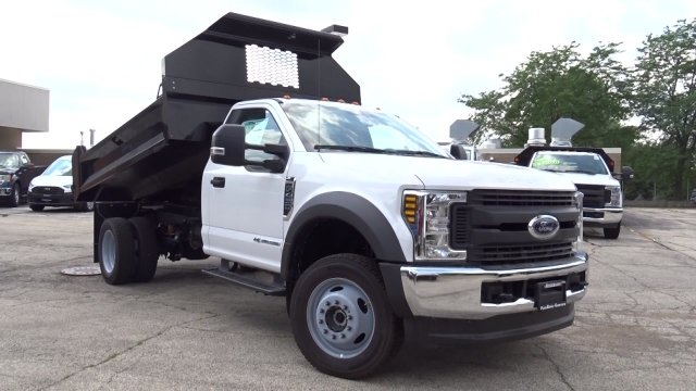 2019 F-450 Regular Cab DRW 4x4,  Knapheide Drop Side Dump Body #F39880 - photo 19