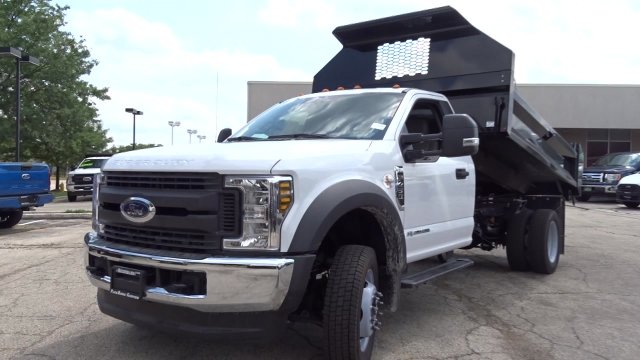2019 F-450 Regular Cab DRW 4x4,  Knapheide Drop Side Dump Body #F39880 - photo 4