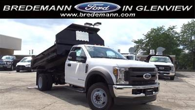 2019 F-450 Regular Cab DRW 4x4,  Knapheide Drop Side Dump Body #F39880 - photo 1