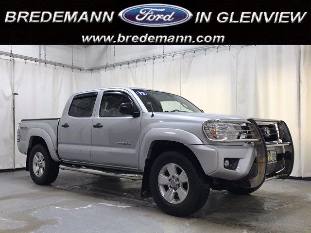 2013 Toyota Tacoma Double Cab 4x4, Pickup #F40052C - photo 1