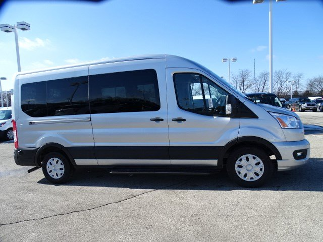 2020 Ford Transit 350 Med Roof RWD, Passenger Wagon #F40340 - photo 1