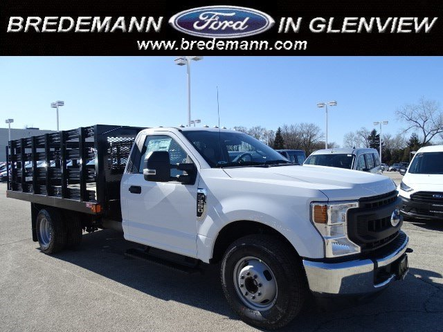 2020 F-350 Regular Cab DRW 4x2, Monroe Stake Bed #F40362 - photo 1
