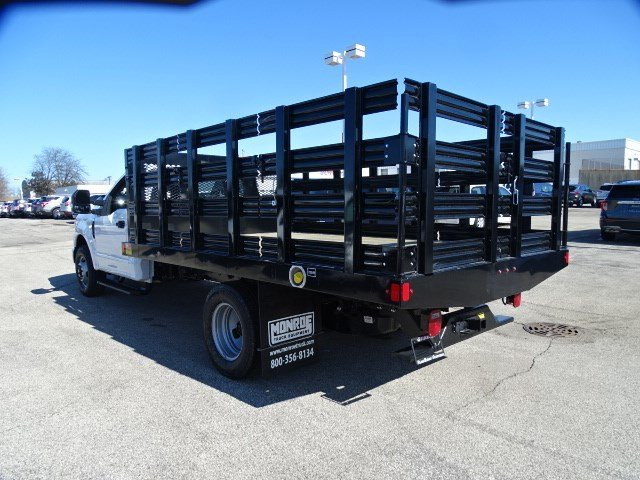 2020 Ford F-350 Regular Cab DRW RWD, Monroe Work-A-Hauler II Stake Bed #F40362 - photo 4