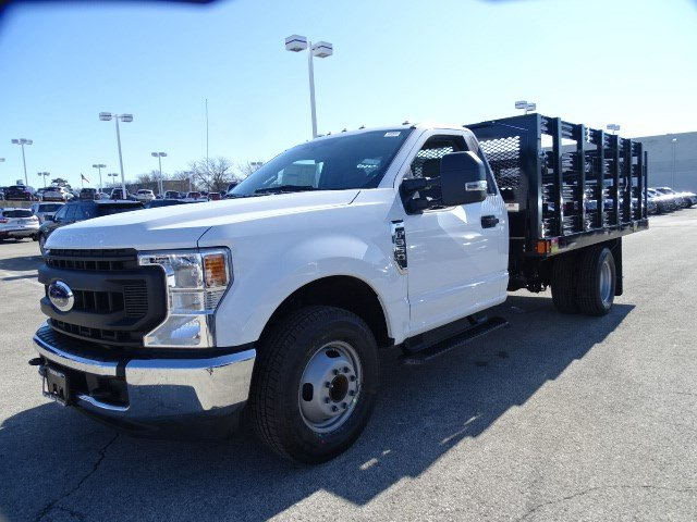 2020 Ford F-350 Regular Cab DRW RWD, Monroe Work-A-Hauler II Stake Bed #F40362 - photo 5