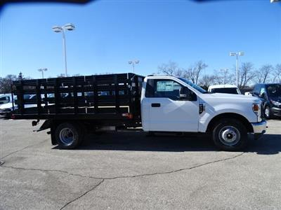 2020 Ford F-350 Regular Cab DRW RWD, Monroe Work-A-Hauler II Stake Bed #F40362 - photo 3
