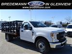 2020 Ford F-350 Regular Cab DRW RWD, Monroe Work-A-Hauler II Stake Bed #F40362 - photo 1