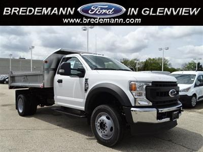 2020 F-450 Regular Cab DRW 4x4, Dump Body #F40509 - photo 1