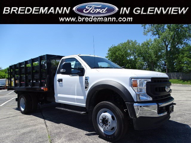 2020 Ford F-450 Regular Cab DRW 4x4, Stake Bed #F40523 - photo 1