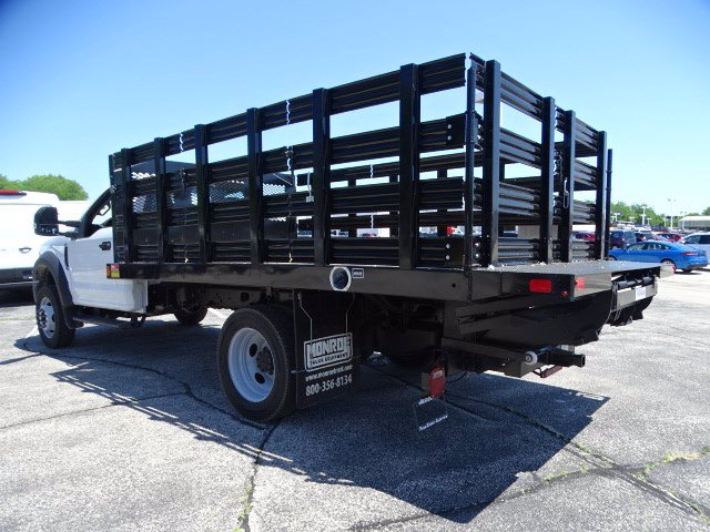 2020 Ford F-450 Regular Cab DRW 4x4, Stake Bed #F40523 - photo 4