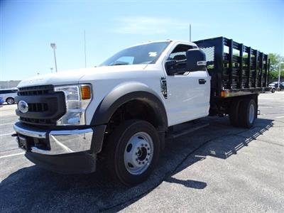 2020 Ford F-450 Regular Cab DRW 4x4, Stake Bed #F40523 - photo 5