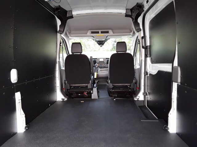 2020 Ford Transit 250 Med Roof RWD, Empty Cargo Van #F40641 - photo 24
