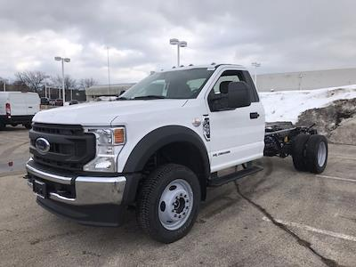 2021 Ford F-450 Regular Cab DRW 4x4, Cab Chassis #F40956 - photo 5