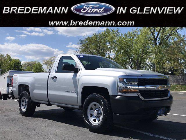 2018 Chevrolet Silverado 1500 Regular Cab 4x4, Pickup #F41001A - photo 1