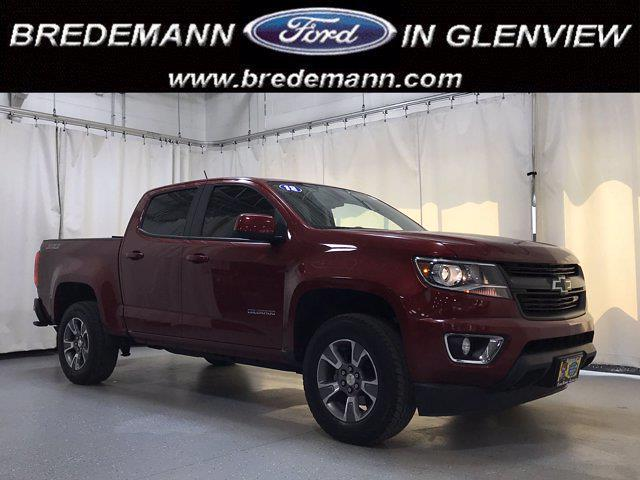 2018 Chevrolet Colorado Crew Cab 4x4, Pickup #F41039A - photo 1