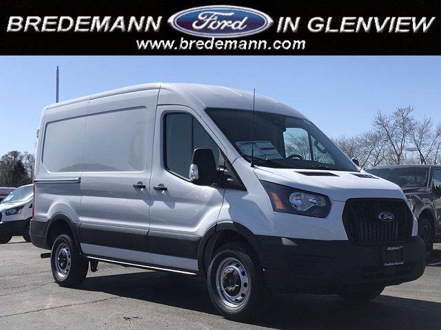 2021 Ford Transit 250 Medium Roof 4x2, Empty Cargo Van #F41045 - photo 1