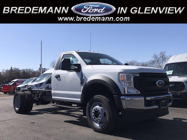 2021 Ford F-450 Regular Cab DRW 4x4, Cab Chassis #F41049 - photo 1