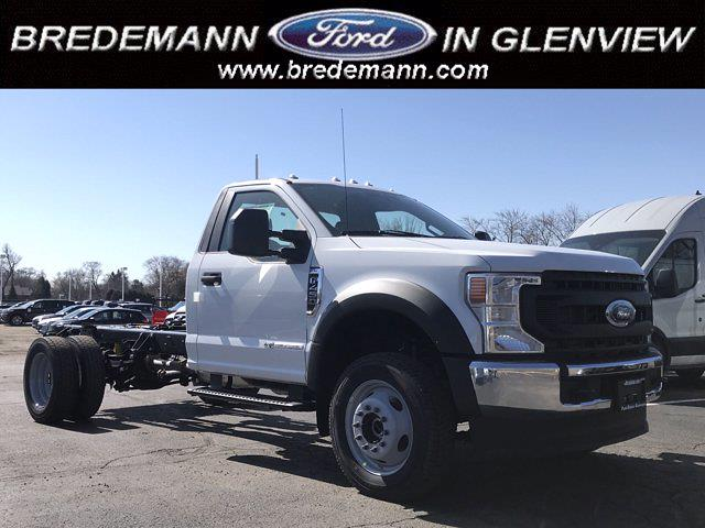 2021 Ford F-450 Regular Cab DRW 4x4, Cab Chassis #F41050 - photo 1