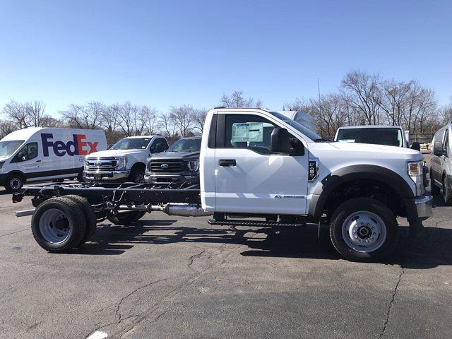 2021 Ford F-450 Regular Cab DRW 4x4, Cab Chassis #F41050 - photo 3