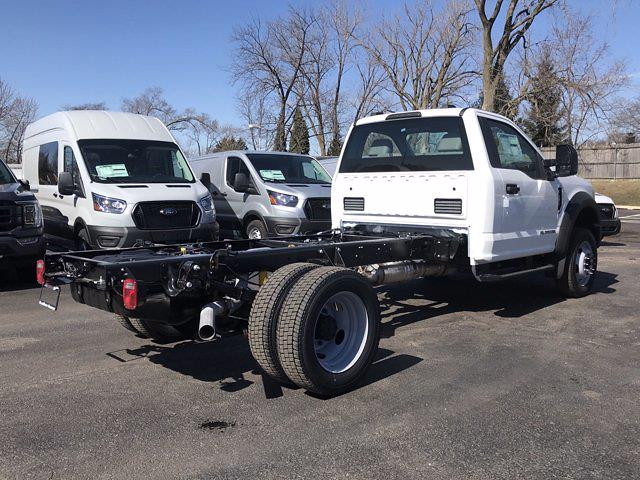 2021 Ford F-450 Regular Cab DRW 4x4, Cab Chassis #F41050 - photo 2