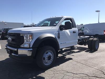 2021 Ford F-450 Regular Cab DRW 4x4, Cab Chassis #F41050 - photo 5