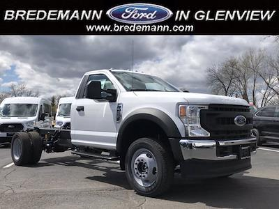 2021 Ford F-450 Regular Cab DRW 4x4, Cab Chassis #F41145 - photo 1