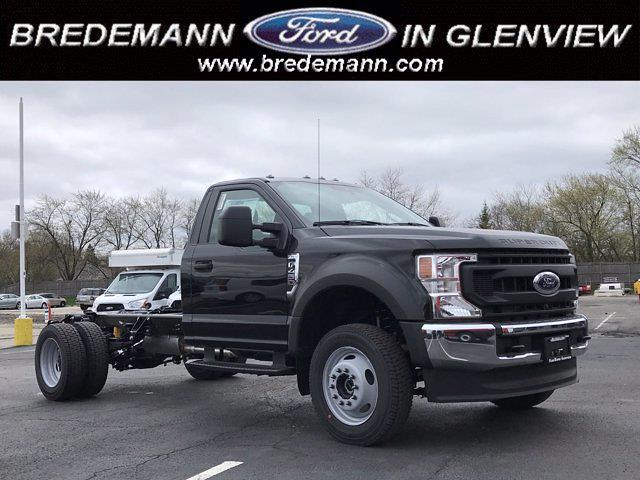 2021 Ford F-450 Regular Cab DRW 4x4, Cab Chassis #F41148 - photo 1