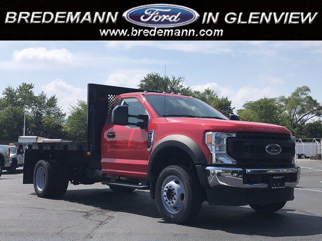 2021 Ford F-450 Regular Cab DRW 4x4, Cab Chassis #F41154 - photo 1