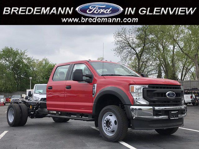 2021 Ford F-450 Crew Cab DRW 4x4, Cab Chassis #F41200 - photo 1
