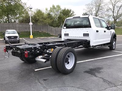2021 Ford F-450 Crew Cab DRW 4x4, Cab Chassis #F41209 - photo 2