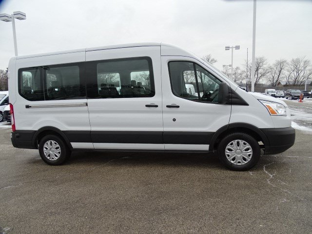 2019 Transit 350 Med Roof 4x2, Passenger Wagon #FP8607 - photo 3