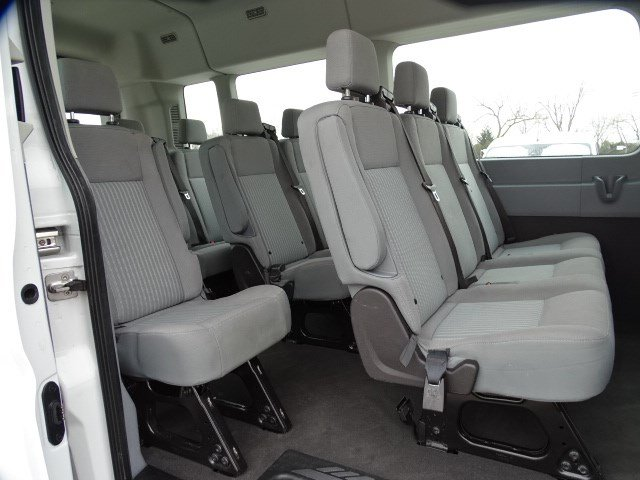 2019 Transit 350 Med Roof 4x2, Passenger Wagon #FP8607 - photo 21