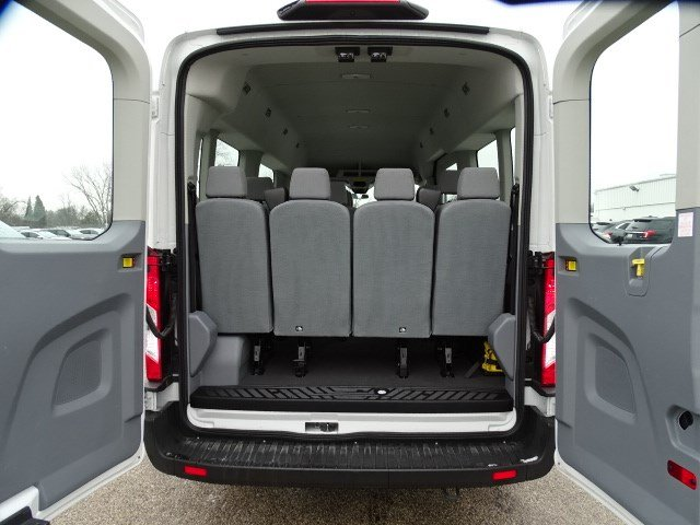 2019 Transit 350 Med Roof 4x2, Passenger Wagon #FP8607 - photo 24
