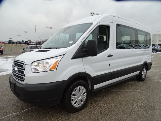 2019 Transit 350 Med Roof 4x2, Passenger Wagon #FP8607 - photo 5