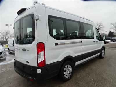 2019 Transit 350 Med Roof 4x2, Passenger Wagon #FP8607 - photo 2