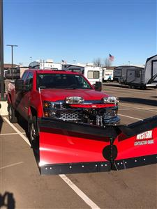 2019 Silverado 2500 Double Cab 4x4, Western Snowplow Pickup #85165 - photo 1