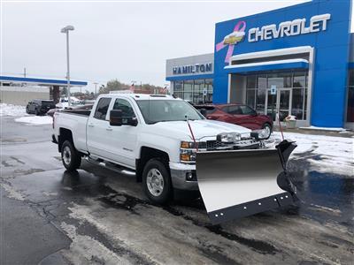 2019 Chevrolet Silverado 2500 Double Cab 4x4, Western Snowplow Pickup #85166 - photo 2