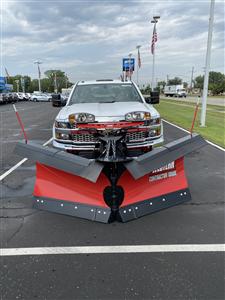 2019 Chevrolet Silverado 2500 Double Cab 4x4, Western Snowplow Pickup #85173 - photo 1