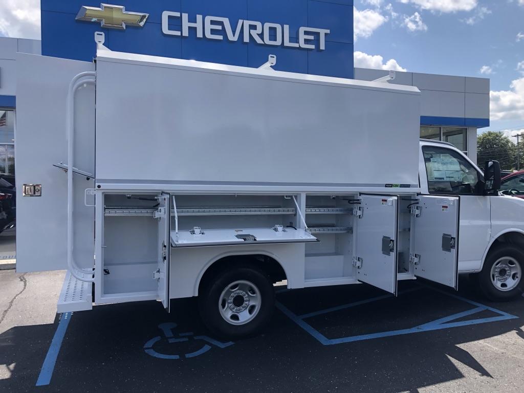 2019 Express 3500 4x2,  Reading Aluminum CSV Service Utility Van #85527 - photo 4