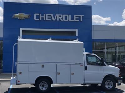 2019 Express 3500 4x2,  Reading Aluminum CSV Service Utility Van #85527 - photo 3
