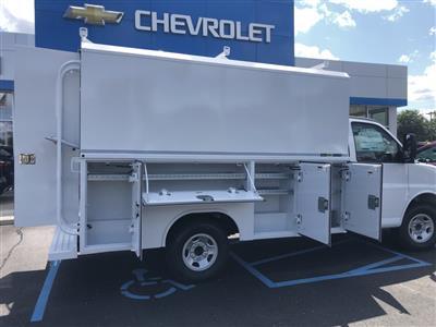 2019 Express 3500 4x2,  Reading Aluminum CSV Service Utility Van #85527 - photo 2
