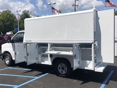 2019 Express 3500 4x2,  Reading Aluminum CSV Service Utility Van #85527 - photo 5