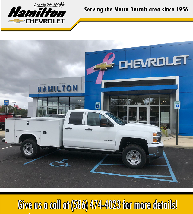 2019 Chevrolet Silverado 2500 Double Cab RWD, Knapheide Steel Service Body #86235 - photo 1