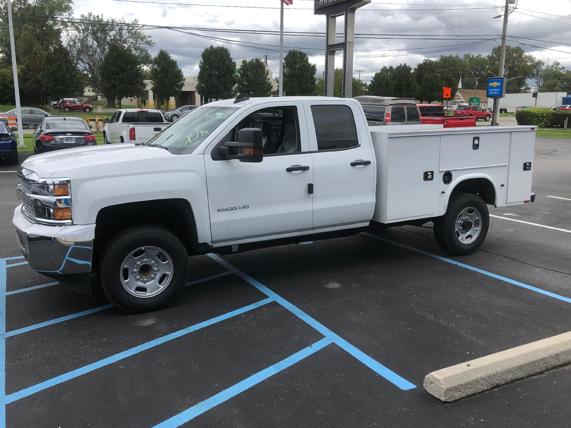 2019 Silverado 2500 Double Cab 4x2, Knapheide Standard Service Body #86235 - photo 2