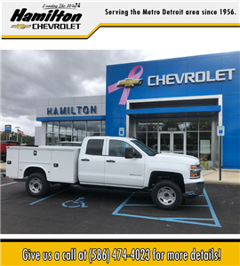 2019 Silverado 2500 Double Cab 4x2, Knapheide Standard Service Body #86235 - photo 3