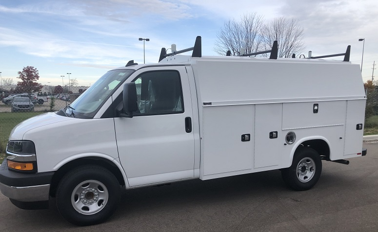 2019 Chevrolet Express 3500 4x2, Knapheide Service Utility Van #86236 - photo 1