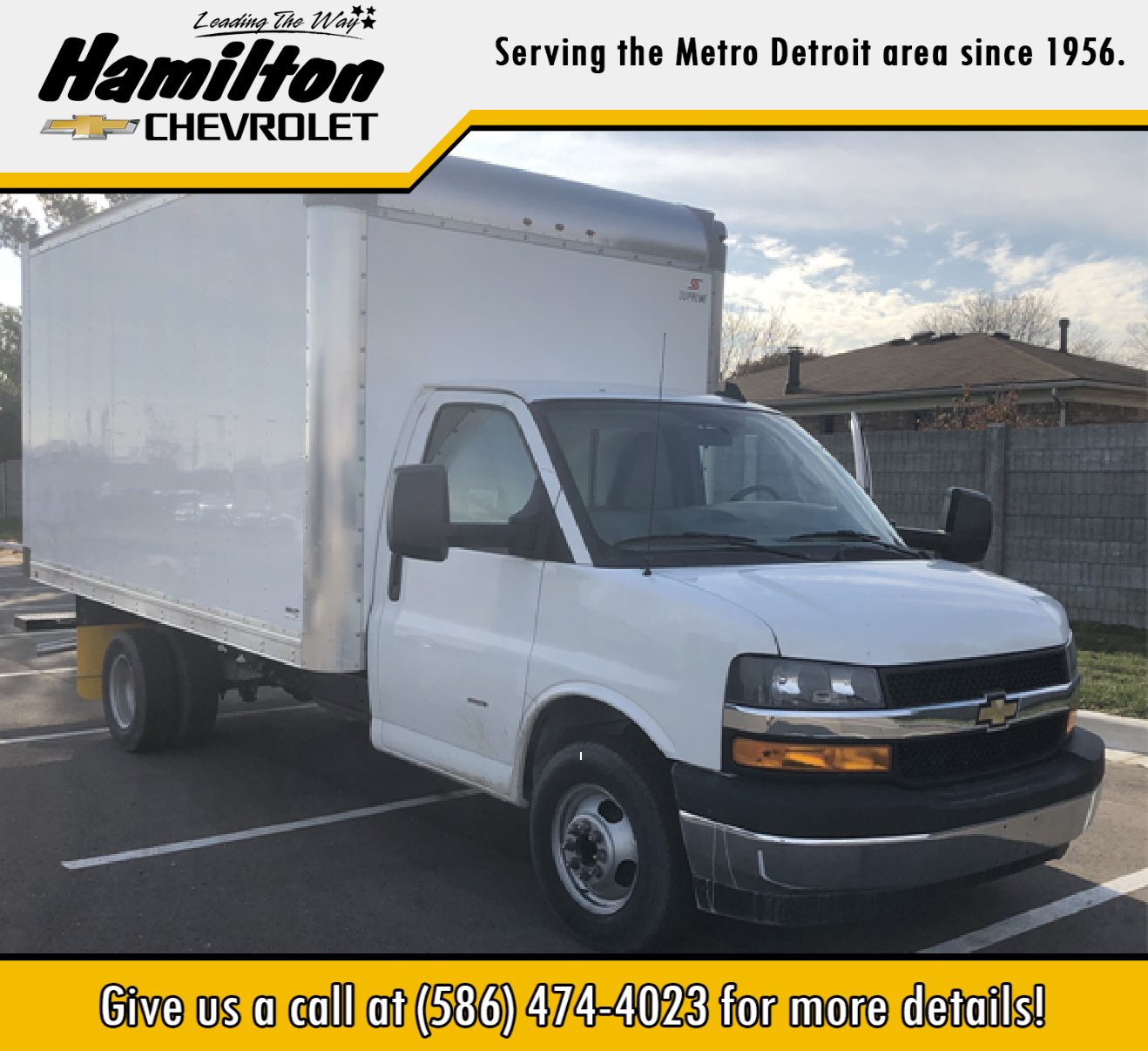 2019 Chevrolet Express 3500 4x2, Supreme Dry Freight #86442 - photo 1