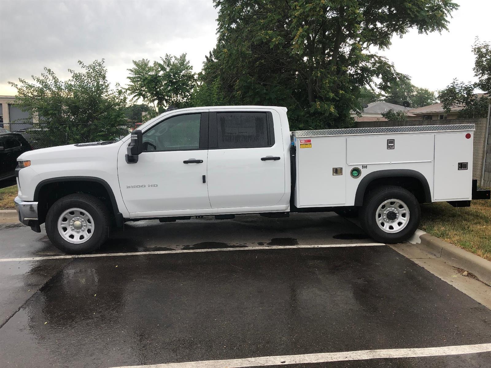 2020 Chevrolet Silverado 3500 Crew Cab 4x4, Monroe MSS II Deluxe Service Body #86786 - photo 3